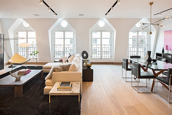 Exclusive New York City Penthouse Blends Tribeca Style
