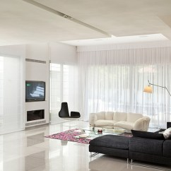 Sheer Curtain Ideas For Living Room Themes Curtains Pictures Design Inspiration View In Gallery The Fjord Lounge Chair Stands Out Thanks To White Backdrop