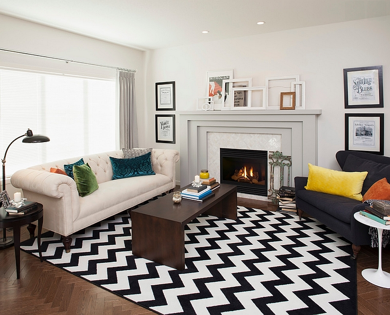 modern rug ideas for living room furniture under 500 chevron pattern rooms rugs drapes and accent pillows view in gallery transitional with a by natalie fuglestveit interior design