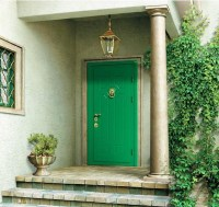 Make a Dramatic First Impression: 15 Painted Front Doors