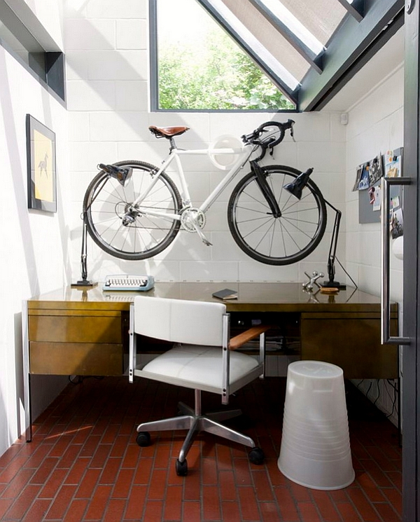 Creative Bike Storage  Display Ideas for Small Spaces