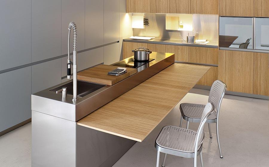 Modern Kitchen With SpaceSaving Solutions Design Ideas