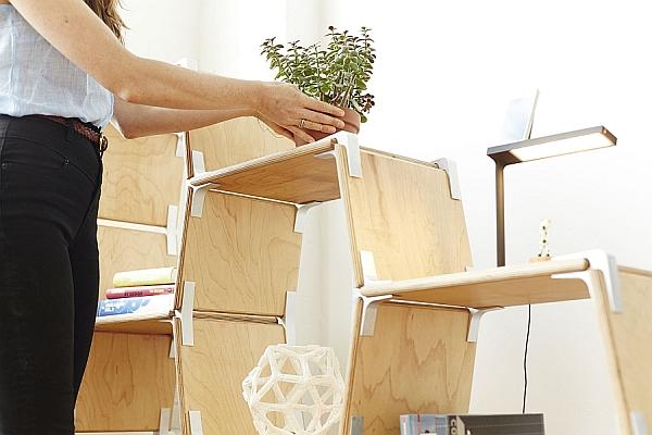 Modos ToolFree Modular Furniture System With Versatility