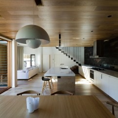 Open Plan Staircase In Living Room Kerala Home Interior Design Inviting House Down Under Surrounds You With A World ...