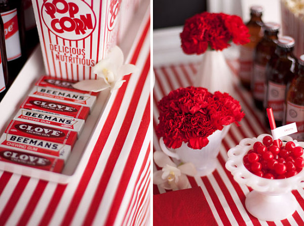 One Red Tablecloth Three Table Setting Ideas