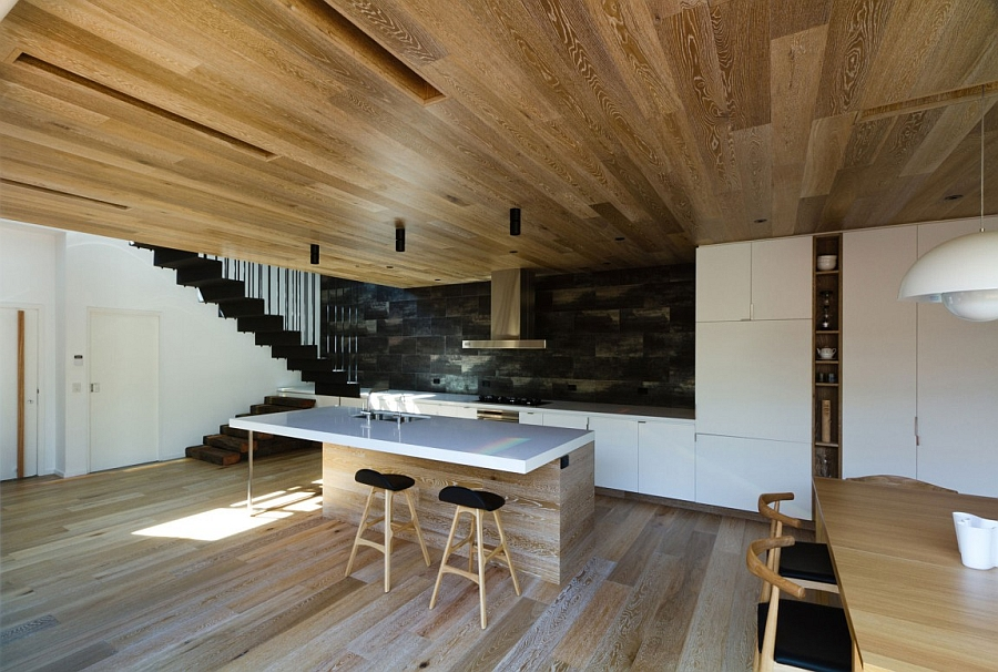 wood and glass kitchen cabinets painting cupboards inviting open house down under surrounds you with a world ...