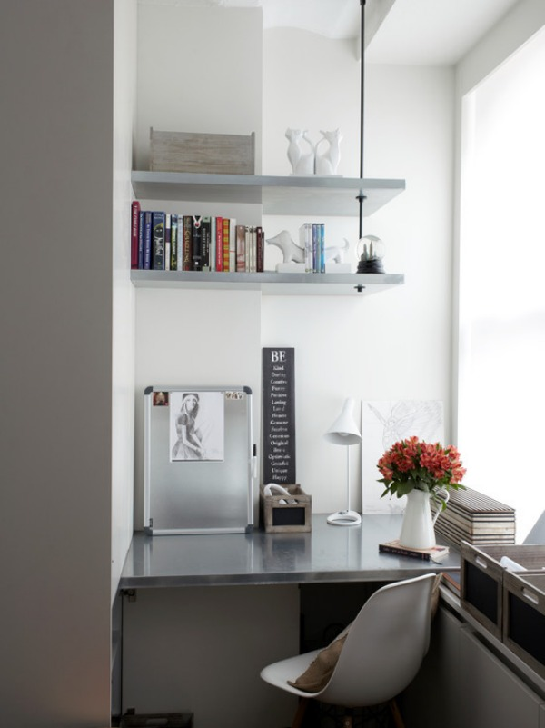 SpaceSaving Corner Shelves Design Ideas