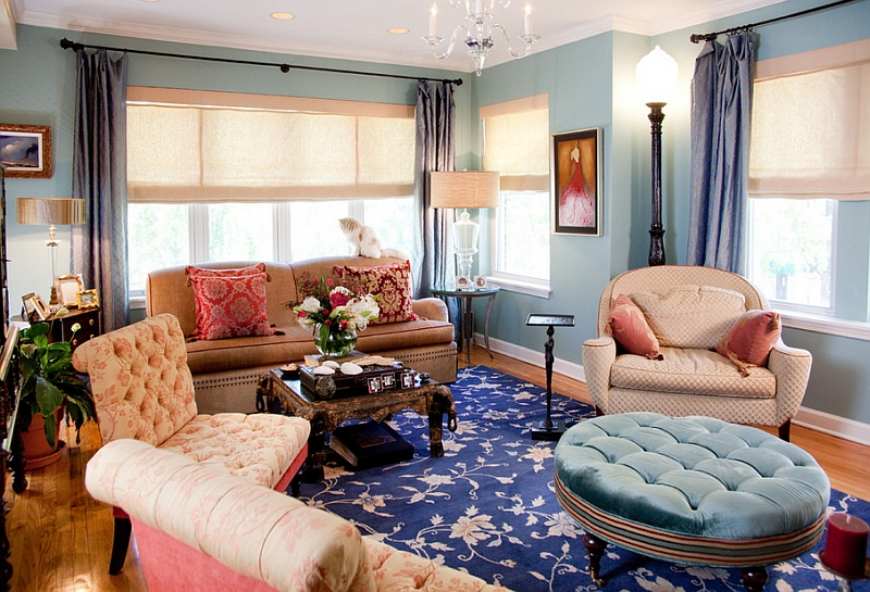 bohemian living room decor ideas small rectangle decorating 2 style interiors rooms and bedrooms view in gallery eclectic combination of both colors defines this attractive space