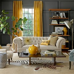 Living Room Decorating Ideas With Gray Walls Standard Window Size And Yellow Rooms Photos Inspirations View In Gallery Eclectic Drapes