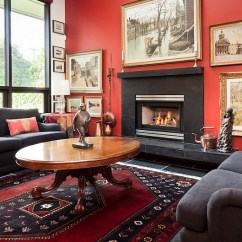 Black And Red Living Room Paint For Ideas White Interiors Rooms Kitchens Bedrooms View In Gallery Eclectic Allow You To Use An Extensive Fashion