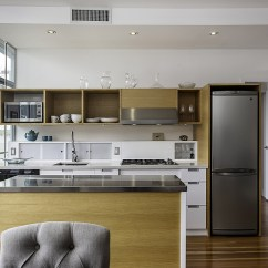 Kitchen Mobile Island Undermount Single Bowl Sink Dramatic Views And A Snazzy Interior Shape Loft-style ...