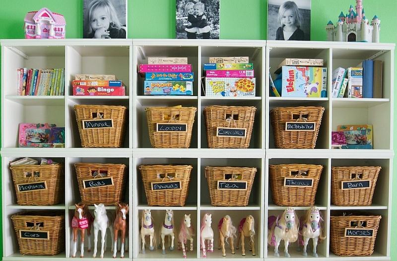 kids bedroom storage - interior design