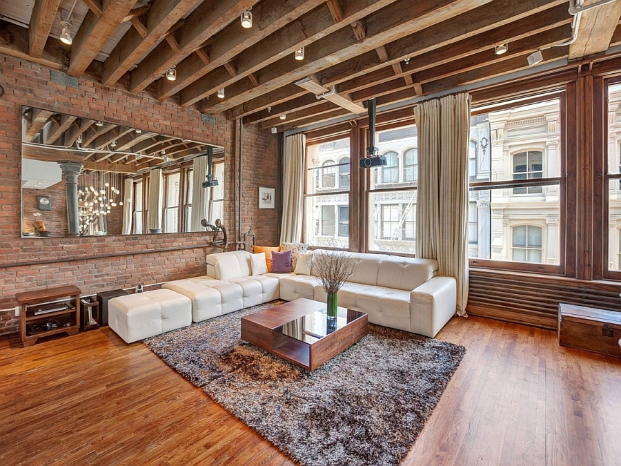 Cozy New York City Loft Enthralls With An Eclectic