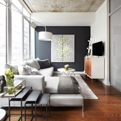 Pictures Of Grey Living Room Walls Set Gray And Yellow Rooms Photos Ideas Inspirations View In Gallery Warm Textiles Beautiful Wall Art Standout This Refreshing