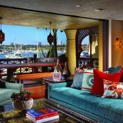 Moroccan Living Room Design Wall Art For Bachelor Pad Rooms Ideas Photos Decor And Inspirations View In Gallery A Colorful Stunning Getaway With Bay