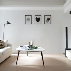 Pictures Of Modern White Living Rooms Room Furntiure Black And Design Ideas View In Gallery A Minimal Scandinavian Style To The