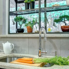 Greenhouse Kitchen Window L Type Small Design How To Style A Garden