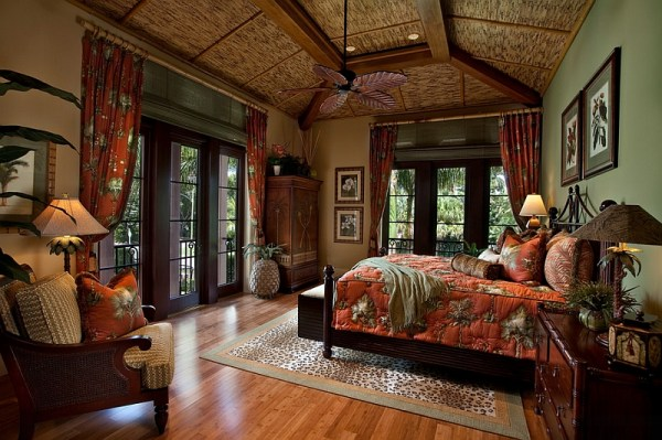 beautiful tropical bedroom design Moroccan Bedrooms Ideas, Photos, Decor And Inspirations