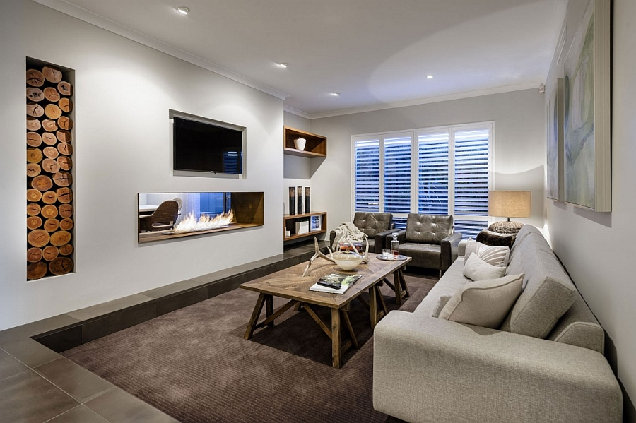 Sunken Living Rooms StepDown Conversation Pits Ideas Photos