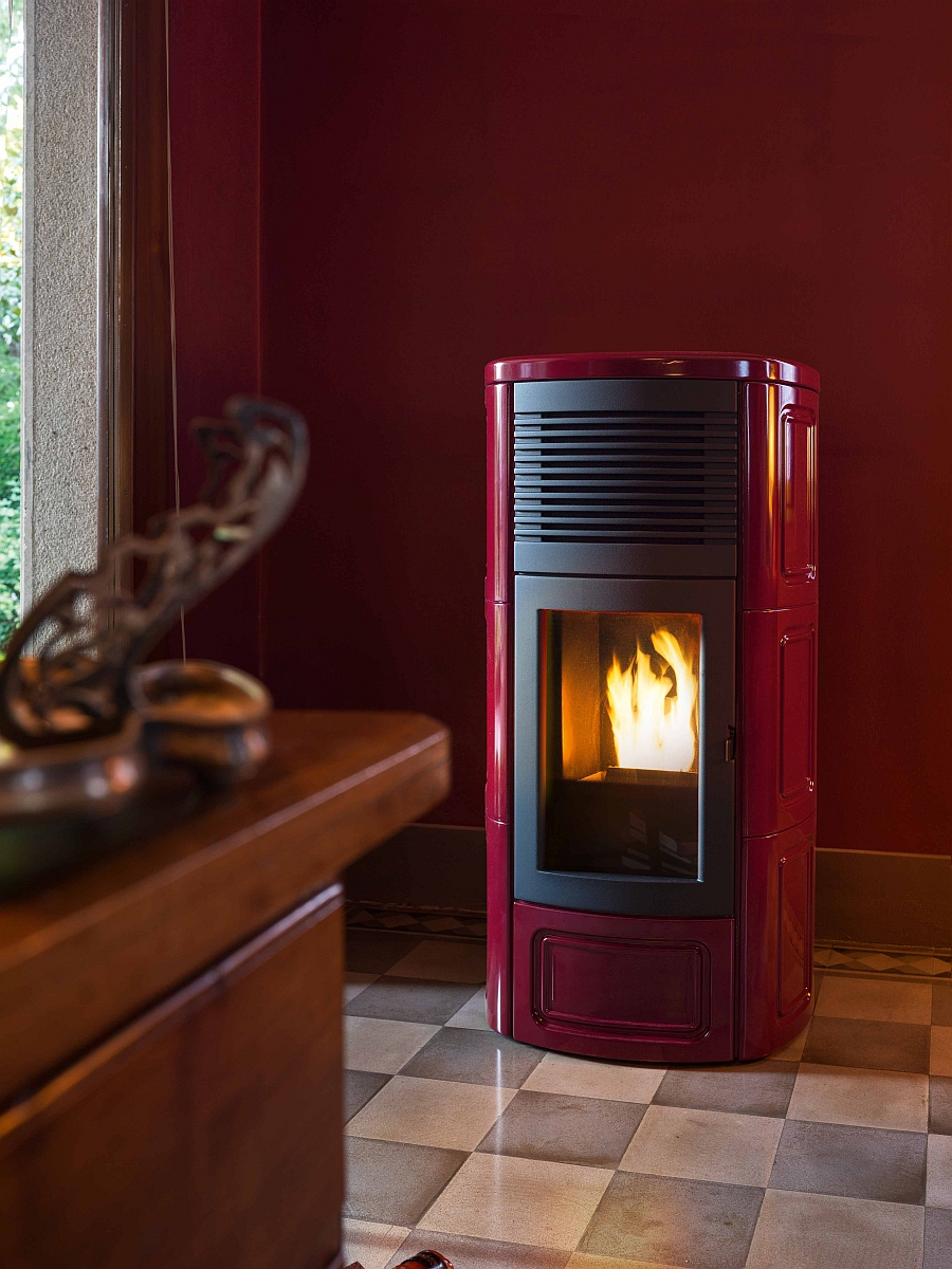 Stunning Contemporary PelletBurning Stoves EnergyEfficient Designs