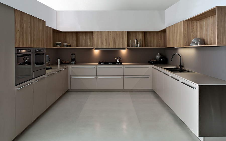 Modern Italian Kitchens With Modular Cabinets Colorful