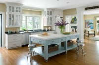 Kitchen Island On Casters: Mobile Wonders Roll Together ...