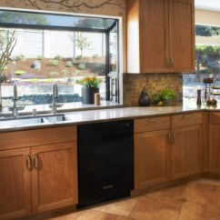 Kitchen Window Ideas Range With Downdraft Ventilation How To Style A Garden View In Gallery
