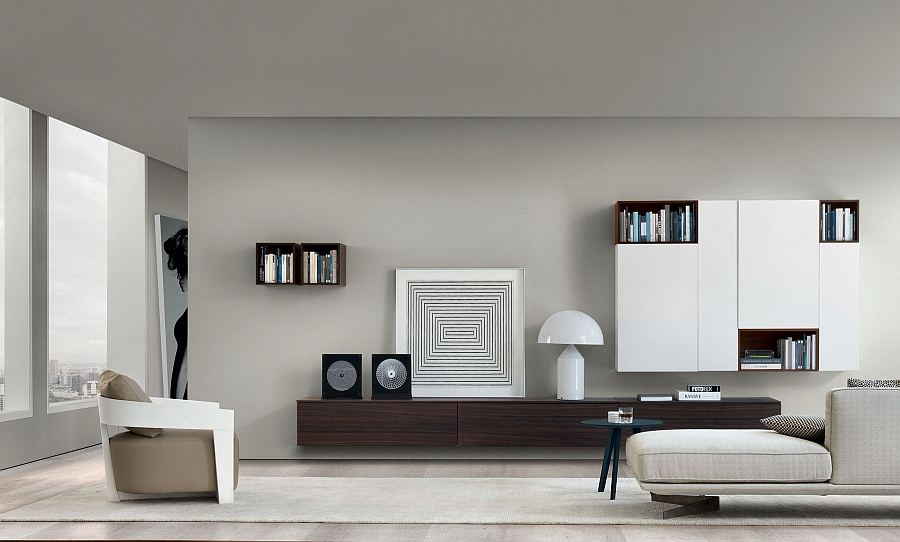 modern wall units living room black clocks for 20 most amazing view in gallery gorgeous wooden mounted decorated using and white accessories