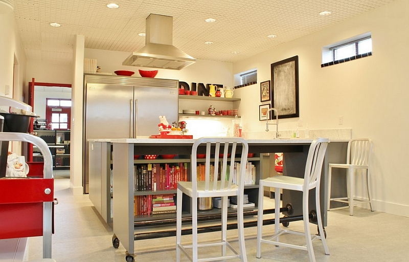 Kitchen Movable Island