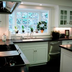 Kitchen Window Ideas Why Are Cabinets So Expensive How To Style A Garden View In Gallery Interesting Plant Grouping Picture