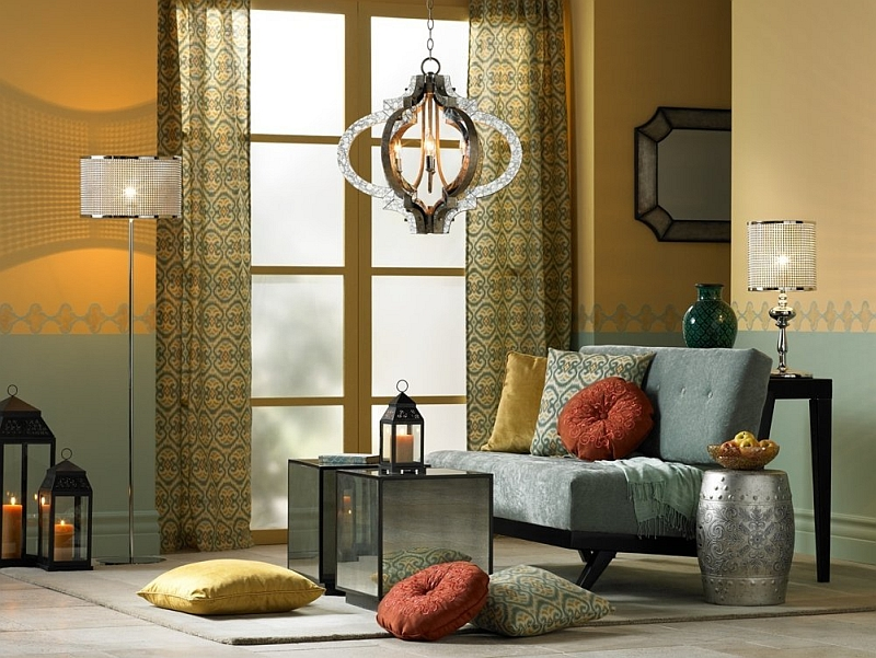 moroccan style living room decor modern white set rooms ideas photos and inspirations view in gallery lighting fixtures play a key role shaping styled spaces