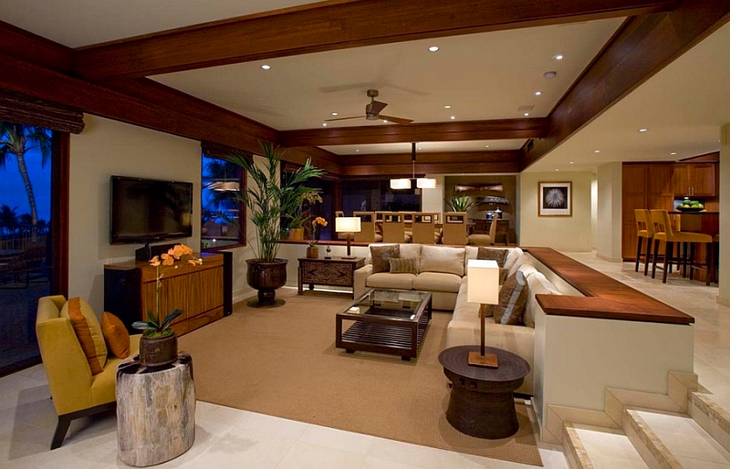 Sunken Living Rooms StepDown Conversation Pits Ideas Photos