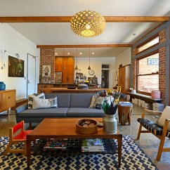 Danish Modern Living Room False Ceiling Design Photos For L Shaped Mid Century Style Guide Ideas View In Gallery Lovely Blend Of Textures The Along With Jens Risom Chairs