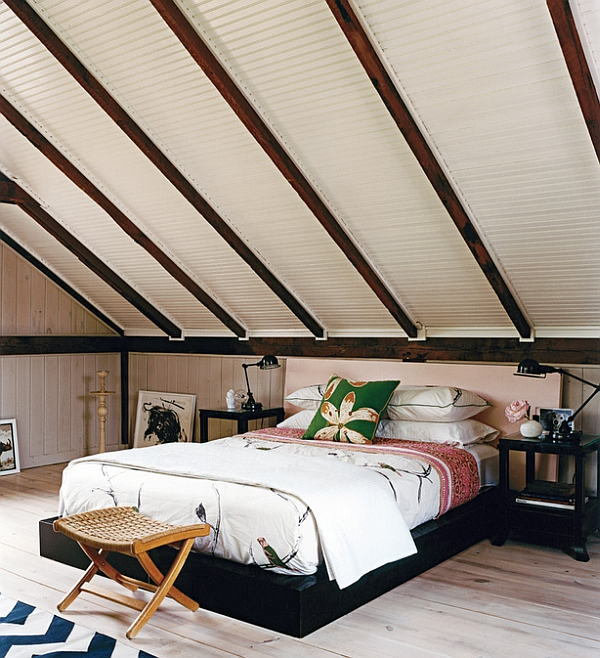 How To Decorate Rooms With Slanted Ceiling Design ideas