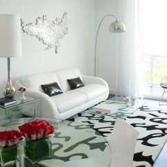 Black And White Living Room Furniture Ideas Sofa Sale Rooms Design View In Gallery Nordic Style Trendy