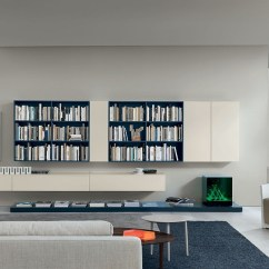 Living Room Wall Units With Storage Modern Decoration Ideas 20 Most Amazing View In Gallery Sleek White Offer Ample Display And Space The