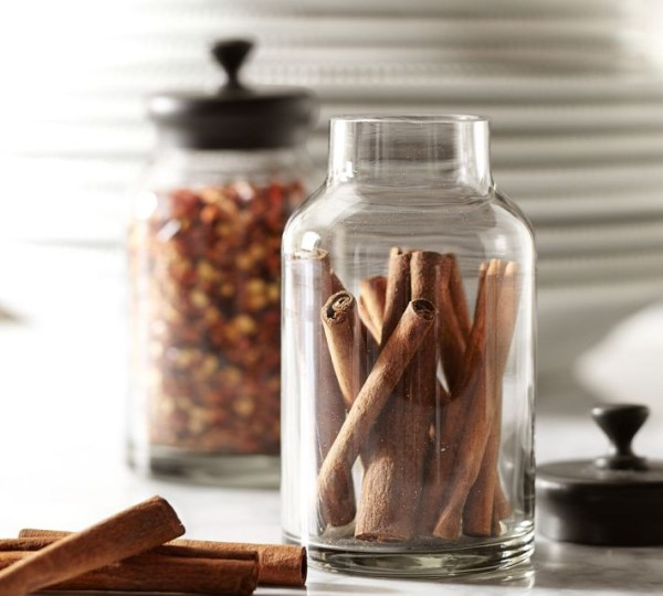 decorative kitchen jars