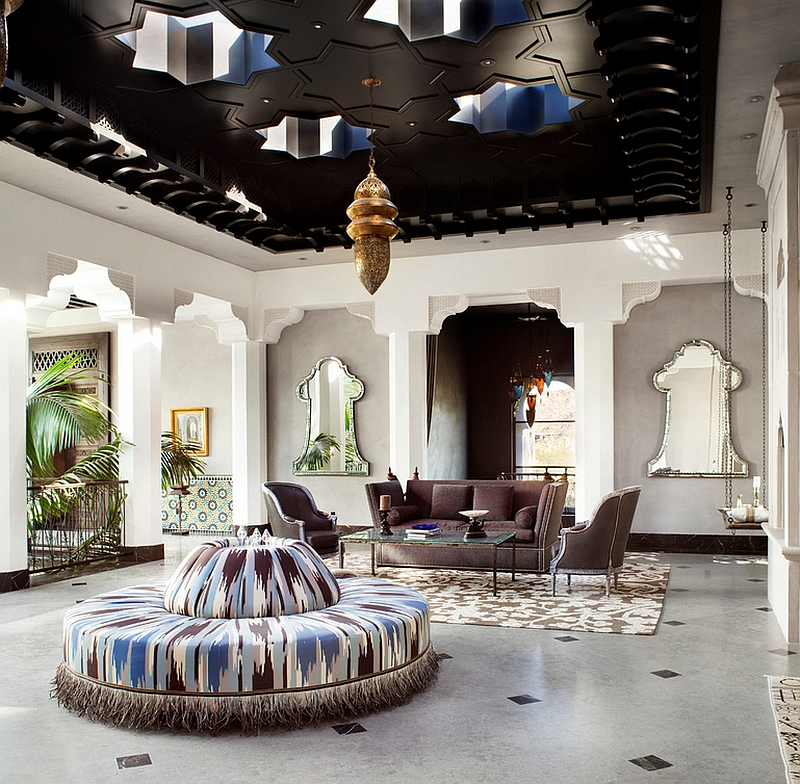moroccan living room design fireplaces decorating ideas rooms photos decor and inspirations view in gallery stunning combines hollywood glamour with amazing