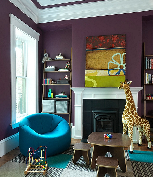 chairs for kids room cuddle chair bed hot color trends: coral, teal, eggplant and more