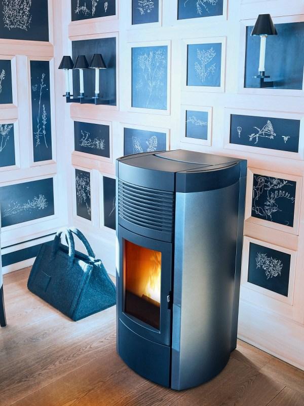 Stunning Contemporary Pellet-burning Stoves Energy