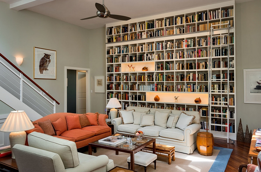 Living Room Book Cabinets