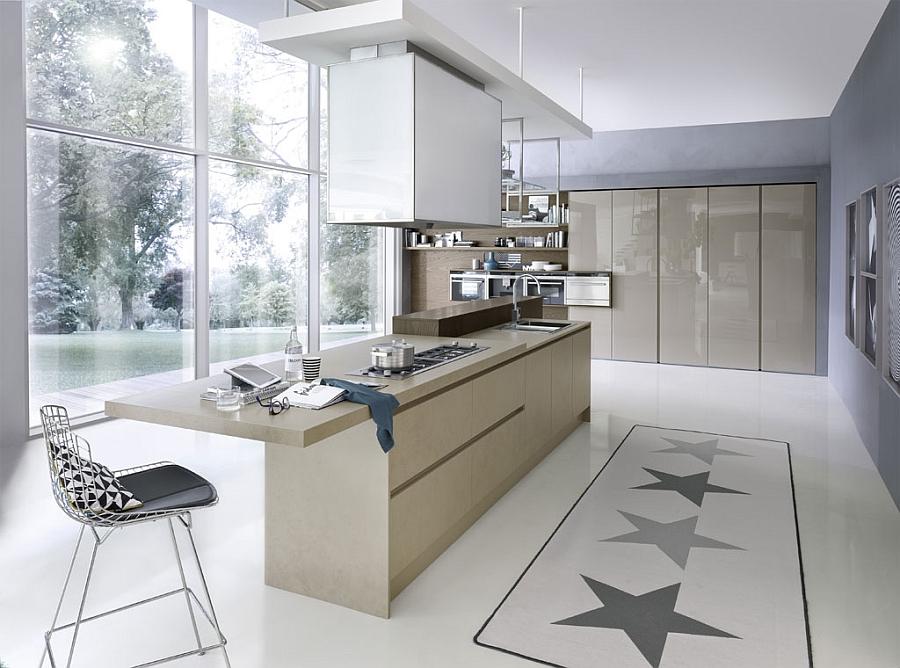Contemporary Italian Kitchen SpaceSaving Versatile