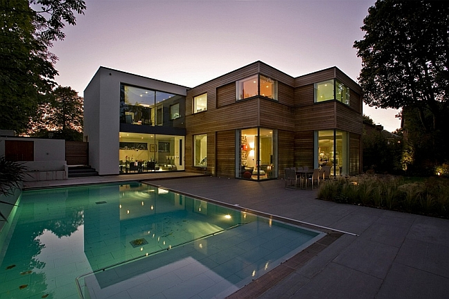 Exclusive Contemporary London Home Blends Urbane Style