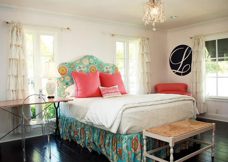 Turquoise Wallpaper For Girls Bedroom Feminine Bedroom Ideas Decor And Design Inspirations