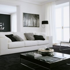Tables Living Room Decorate With Black Sofa Trendy Round Coffee Table Ideas Contemporary Style View In Gallery Fabulous And White Composition Decor