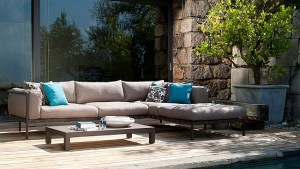 Exclusive Outdoor Sofa, Armchair Collection, Contemporary