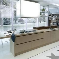 Cool Kitchen Islands Brass Faucet Contemporary Italian Kitchen, Space-saving Versatile ...