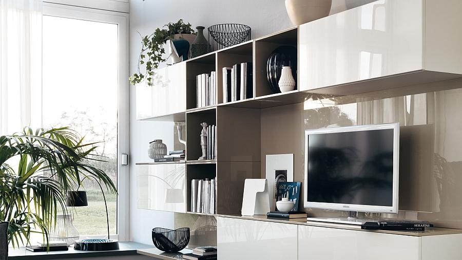 Modular Living Area Kitchen Compositions Versatile Trendy