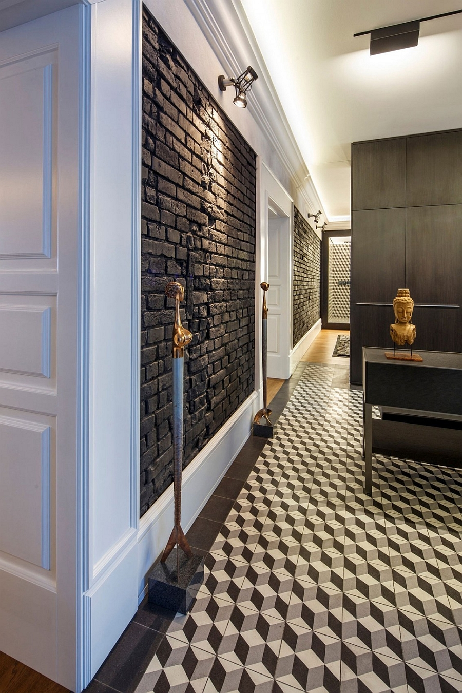 Posh Private Home In Slovakia Geometric Patterns And