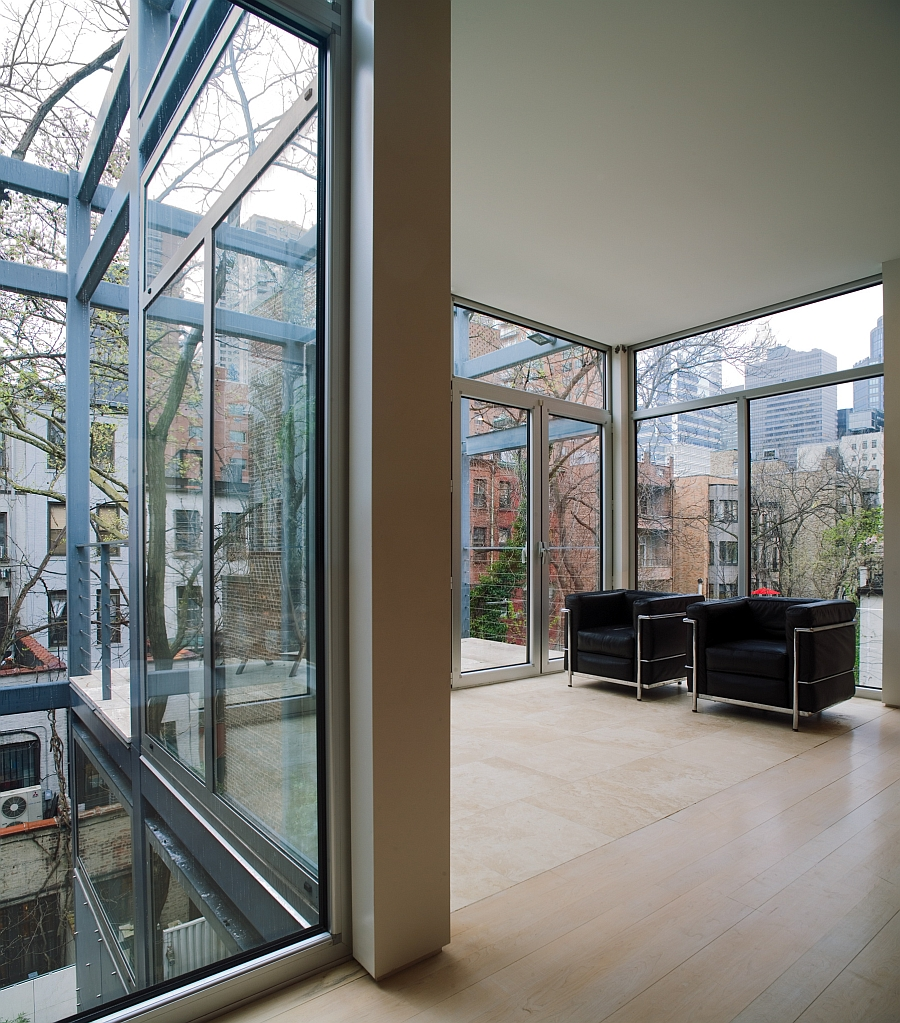 Smart New York City Townhouse Renovation Breezy Modern Design